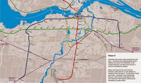 Ottawa Subway Map.A Subway Down Bank Street Let S Look At Some Imaginary Speculative
