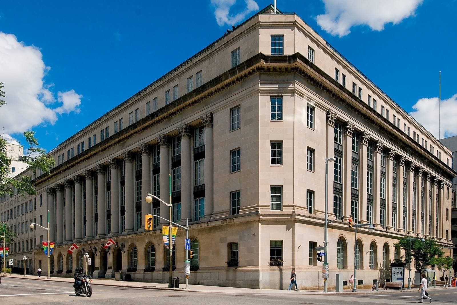 The splendid fusion of historic and new architecture exhibited by the newly renovated Sir John A. MacDonald Building and the Wellington Building will be on display for Doors Open Ottawa on June 4 and 5.