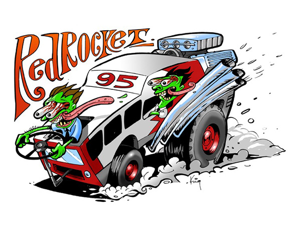 Andrew King's OttFink collection - Red Rocket