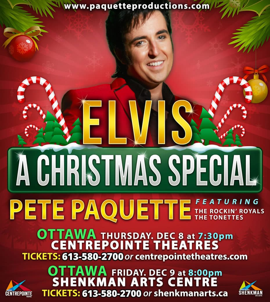 Elvis A Christmas Special with Pete Paquette