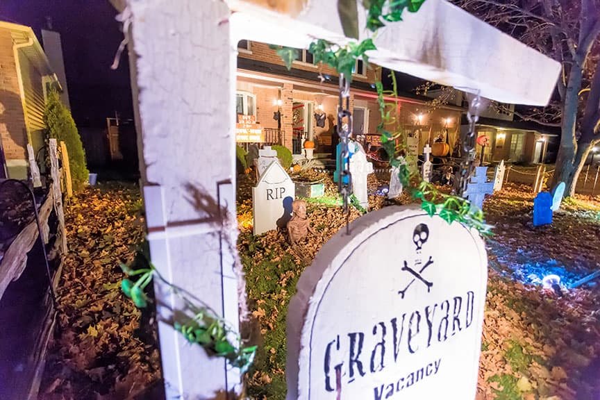 Ghoulbourn Spook Show at 72 Cherry Drive