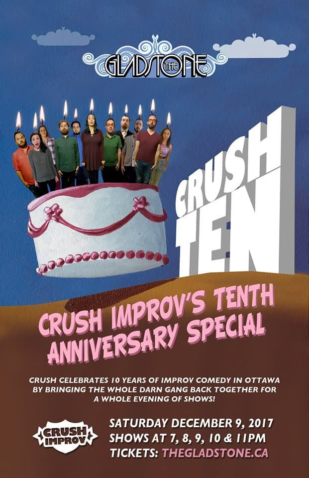 Crush Improv 10th Anniversary Show
