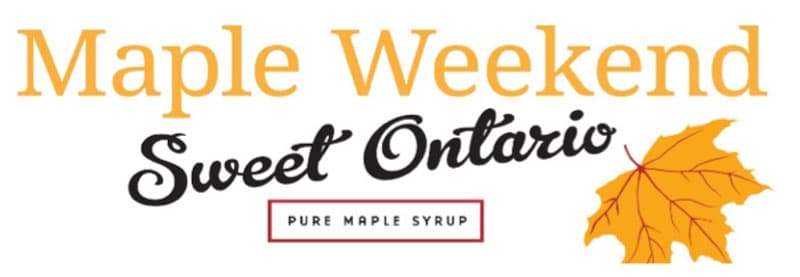 Lanark Maple Weekend